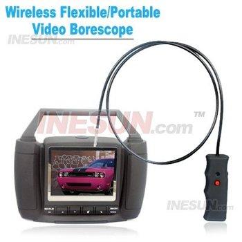 Portable Security CCTV Wireless Snake Borescope Camera, 5.5mm Flexible/Portable Video