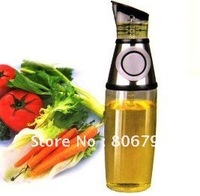 Free Shipping Press and Measure Oil and Vinegar Dispenser Bottle As Seen On TV