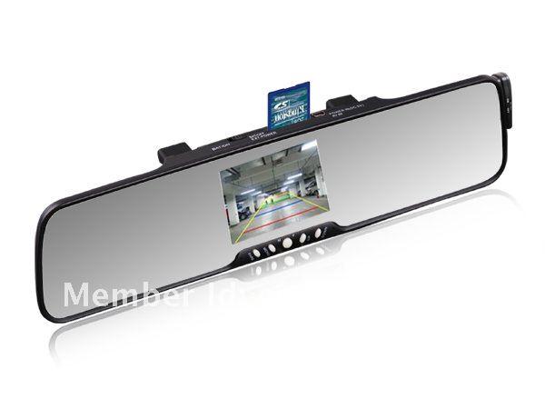 Mirror bluetooth car handsfree 3.5''TFT bluetooth wireless backup camera car kit(China (Mainland))