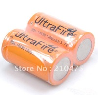 Ultrafire XSL 18350 1200mAh 3.7V Li-ion Rechargeable Battery (1 pair)