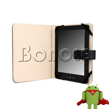 New Hot Selling Black 7 Inch Tablet PC Leather Case Protecting Jacket For Epad Apad 4645