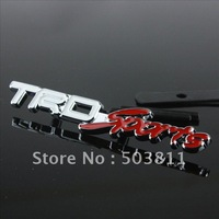 3D Metal Emblem Alloy Car Logo Front Grill Badge For TRD Sport Toyota Emblem