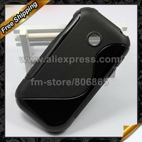 P698 TPU case,S line TPU Skin Gel Case Cover For LG P698 by DHL  Free Shipping