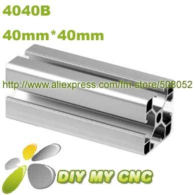Length=1000mm 40mm*40mm Aluminum Profile D-8-4040B aluminum extrusion profile 6003-T5 material(China (Mainland))