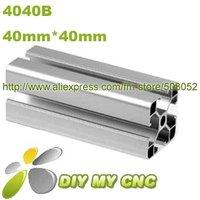 Length=1000mm 40mm*40mm Aluminum Profile D-8-4040B aluminum extrusion profile 6003-T5 material