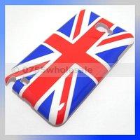 100PCS/Lot National Flag UK Flag IMD Hard Case for Samsung Galaxy Note i9220/N7000 Free Shipping