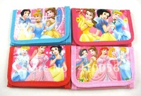 Wholesale - 24 pcs Snow White kids cartoon Purses coin Wallet