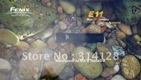 2012 dropshipping Fenix E11 Cree XP-E 105 Lumen 2-Mode AA Battery LED Waterproof EDC Flashlight free shipping 50PCS/Lot