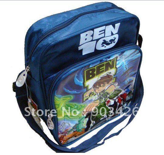 Free Shipping ! Fashion Ben 10 Messenger Shoulder Bag Carry Hand Bag G0161 On Sale Wholesale & Drop Shipping(China (Mainland))