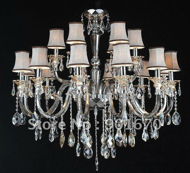 Goddesslighting Factory 8+4 lampshades chandelier pendant lamp hotel lighting engineering lamp can customizable(China (Mainland))