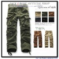Men's Casual Cargo Pants /Mens Casual straight   cotton trousers(China (Mainland))