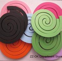 Wholesale+Fanshion DIY decorative wood wall sticker,orange,pink,green.4sets/lot.Free shipping.