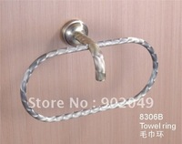 Hot Sell Oval Towel Ring Bathroom Enclosures Free Shipping Wholesale KG-8306B