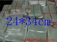 Free Shipping! packing bag ,clear plastic bag,  OPP Seal  Bags 5(um)dimensions 24*34 cm 500pcs/lot