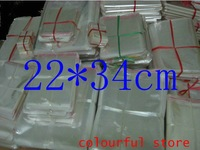 Free Shipping!packaging bag,clear plastic bag, OPP Seal Plastic Pack Bags 5(um) dimensions 22*34 cm 500pcs/lot