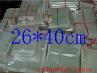 Free Shipping!packaging bag,clear plastic bag, OPP Seal Plastic Pack Bags 5(um) White 26*40 cm 1000pcs/lot