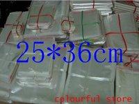 Free Shipping!packaging bag,clear plastic bag,  OPP Seal Plastic Pack Bags 5(um) silk 25*36 cm 1000pcs/lot
