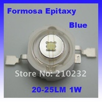 high power LED Formosa Epitaxy chip 40mil 1w led lamp 20lm-25lm, Blue Wholesale and retail