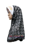 Hot sale Islamic  Arabic womens scarf(fashion islamic production  TK-SL003A (MOQ:24 Pieces)
