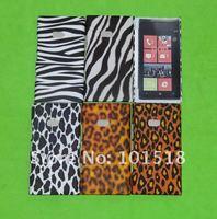 50pcs/lot Free shipping New Leopard  Hard Case Cover For Nokia Lumia 900