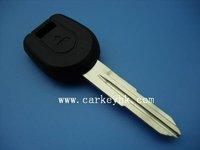 Free shipping Mitsubishi transponder key, transponder key with left blade ID46 chip, car key
