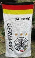 germany  beach towel /fans  white cotton bath towel /  rectanglebath towel  70x145cm