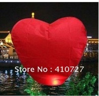 Free Shipping heart Sky Lanterns, Wishing Lamp SKY  LANTERNS BIRTHDAY WEDDING PARTY