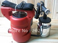 paint zoom house painting spray gun paint spraying equipment-electric spray gun-free shipping