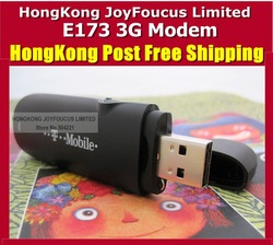 Unlocked Huawei E173 7.2M Hsdpa USB 3G Stick Modem Wholesale HongKong post Freeshipping(China (Mainland))