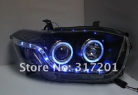 Задние фонари EMS Shipping! 2007~2010TanWai TOYOTA COROLLA LED taillight, 12month warrantly! good quanlity