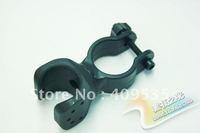 Free shipping,20pcs/lot,Bike Flashlight Mount Holder, Bicycle clip, lamp clip, flashlight cage holder