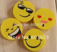 wholesale  cute expression style fashion model eraser,Mini Fruits eraser, cartoon rubber, funny eraser Eraser Free fast shipping