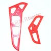 MJX RC helicopter model spare parts accessories F45 Tail Horizonal and vertical  fin plate ( Red)