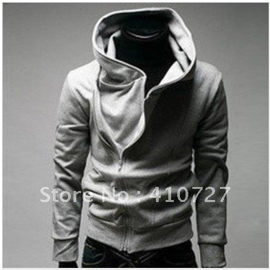 High Collar Men&#39;s Jacket Top Brand ,Men&#39;s Dust Coat Hoodies Clothes M L XL XXL ,! Free shipping(China (Mainland))