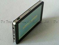 5 inch Car GPS Navigation  CE6.0 RAM128M FM Bluetooth AV-IN 4GB TF card +Free map + Free shipping