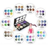 Alpha 6-color eye shadow (1-12) smoked makeup eye shadow free shipping