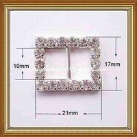 10mm inner bar crystal buckle