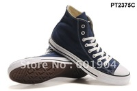 Unisex Tall style canvas shoes  Men's/Women's canvas shoes 13 colors