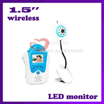 Wireless Baby monitor,2.4GHz digital video baby monitor freeshipping
