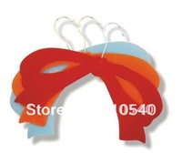 New fashional ABS plastic  flocked  scarf  hanged hanger