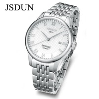 JSDUN Brand Watch for man automatic machine movement men's watches new design sapphire 3ATM Water Resistant free shipping 8688