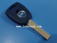 Free shipping Fiat key blank,transponder car key case& key shell& key cover, car key