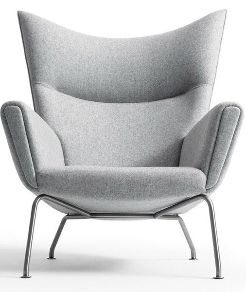 Hans J Wegner Style CH445 Wing Chair(China (Mainland))