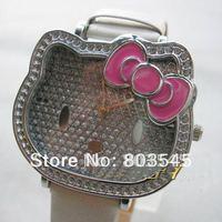 10pcs/lot Hellokitty watch Fashion watches Quartz watch Hello Kitty Watches for Ladies watch women watch wristwatches