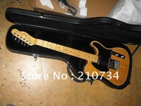 Wholesale -  Musical Instruments style wood color classic solid Electric Guitar