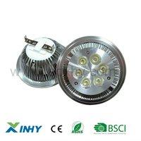 Free Shippng Epistar 12V GX53 AR111 High Powe  6W LED Spotlight