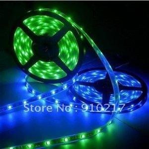 high quality led rope light SMD5050 flexible led strip IP68 led ribbon color blue
