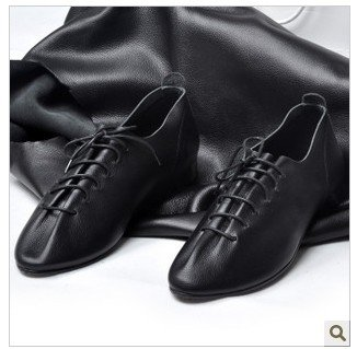 Make your own soft soled leather shoes. Tutorial