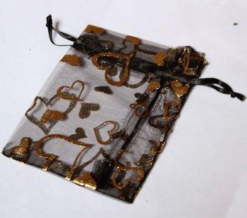 3.5inchX5inch Satin bags organza bags jewelry pouches  wedding organza bags