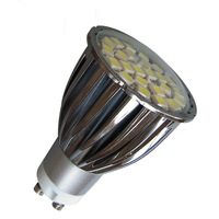 LED GU10 Warm /White LED Blub 24 SMD 5050 LED Energy saving Bulb Lamp